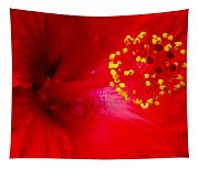 Tropical Hibiscus - Trinidad Wind 02a Tapestry