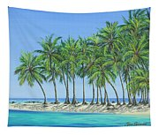 Tropical Lagoon Tapestry