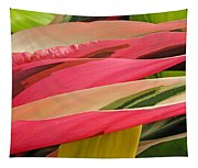 Tropical Leaves Abstract 3 Tapestry