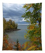 Tropical Mountain Ash Tapestry