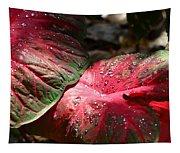 Tropical Rain - Botanical Art By Sharon Cummings Tapestry