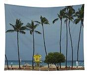 Tropical Storm Flossie Kapukaulua Beach Paia Maui Hawaii 2013 Tapestry