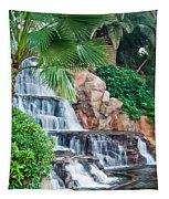 Tropical Waterfall 1 Tapestry