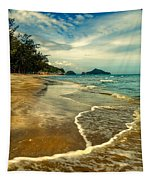 Tropical Waves Tapestry