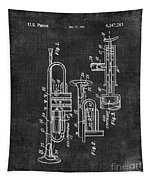 Trumpet Patent Tapestry