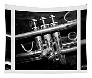 Trumpet Triptych Tapestry