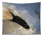 Trumpeter Swan - Safe Place Tapestry