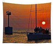 Trust The Gortons Fisherman Tapestry