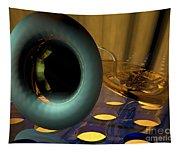 Tuba Goes Disco Tapestry