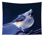 Tufty The Titmouse Tapestry