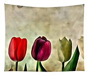 Tulips Color Tapestry