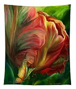 Tulips - Colors Of Paradise Tapestry