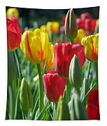 Tulips - Field With Love 22 Tapestry