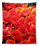 Tulips - Field With Love 28 Tapestry