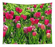 Tulips - Field With Love 54 Tapestry