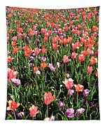 Tulips - Field With Love 55 Tapestry