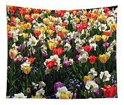Tulips - Field With Love 57 Tapestry