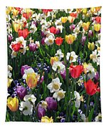 Tulips - Field With Love 58 Tapestry