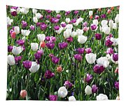 Tulips - Field With Love 60 Tapestry