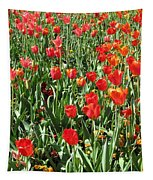 Tulips - Field With Love 62 Tapestry