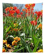 Tulips - Field With Love 64 Tapestry