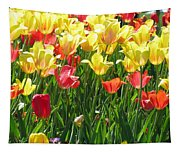 Tulips - Field With Love 65 Tapestry