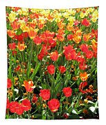 Tulips - Field With Love 68 Tapestry