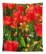 Tulips - Field With Love 71 Tapestry