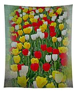 Tulips In A Field Tapestry