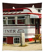 Tumble Inn Diner Claremont Nh Tapestry by Edward Fielding