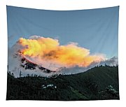 Tungurahua Blowing Off Steam Tapestry