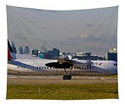 Turboprop Aircraft Tapestry
