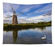 Turf Fen Drainage Mill Tapestry