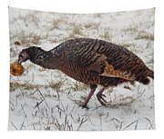 Turkey With Apple Stuffing Tapestry