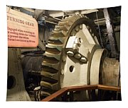 Turning Gear Engine Room Queen Mary 02 Tapestry