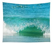 Turquois Waves  Tapestry