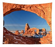 Turret Arch Frame Tapestry