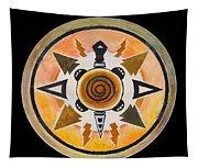 Turtle Mandala Tapestry