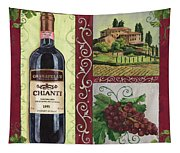 Tuscan Collage 1 Tapestry