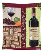 Tuscan Collage 2 Tapestry