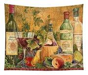 Tuscan In Vino Veritas Tapestry
