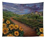 Tuscan Landscape Tapestry