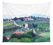 Tuscany Landscape Tapestry