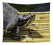 Tutle On Raft Tapestry