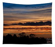 Twilight Colorful Sunset Tapestry