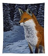 Twilight Hunter Tapestry