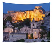 Twilight Over Les Baux Tapestry