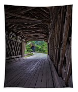 Twin Covered Bridges North Hartland Vermont Tapestry