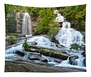 Twin Falls Flows Forth Tapestry
