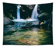 Twin Waterfall Tapestry